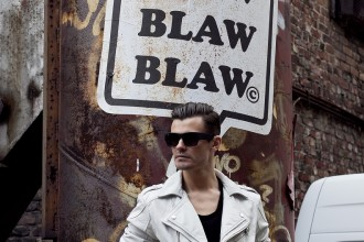 BLAW BLAW BLAW  Jacket and Shirt by tigha Sunglasses by Alexander Wang x H&M