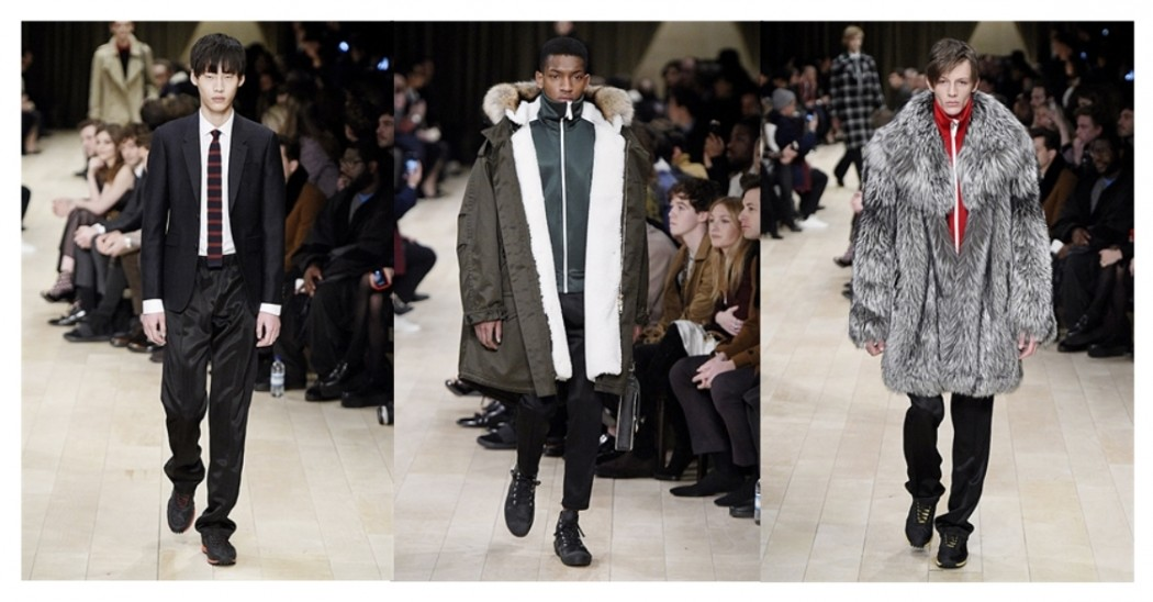 see all the looks from the leatest Burberry Collection