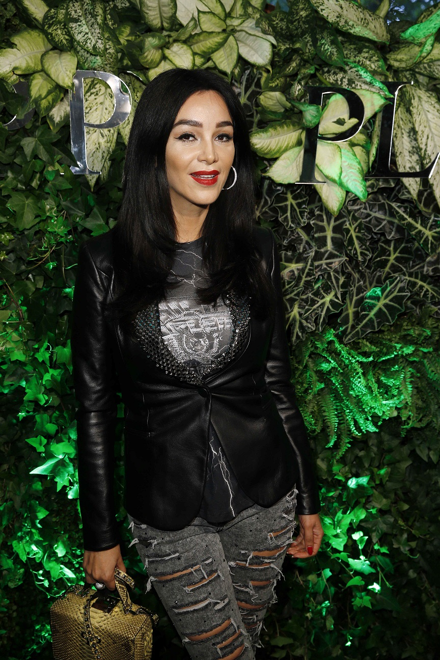 Verona Pooth Philipp Plein Boutique Re-Opening in der Königsallee in Düsseldorf am 02.06.2016. (c) Jessica Kassner für Philipp Plein
